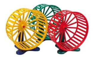 Бесшумное колесо для хомяка